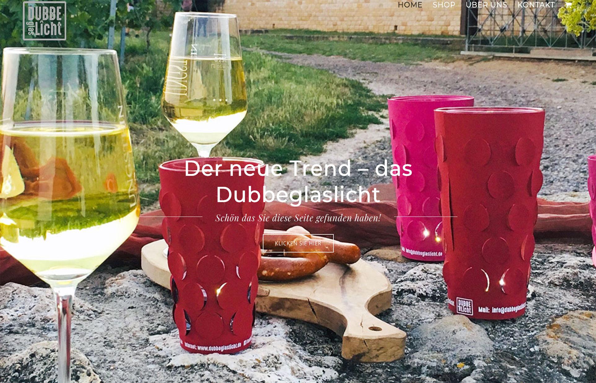 Onlineshop Dubbeglaslicht.de